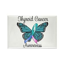Thyroid Cancer Awareness Rectangle Magnet