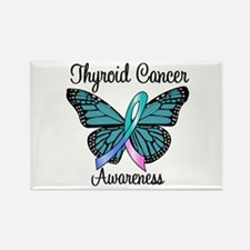Thyroid Cancer Awareness Rectangle Magnet