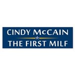 Cindy McCain: The First MILF Bumper Sticker