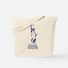 Writers Unite! (Blue) Tote Bag