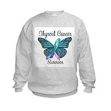 Thyroid Cancer Survivor Sweatshirt