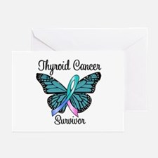 Thyroid Cancer Survivor Greeting Cards (Pk of 10)