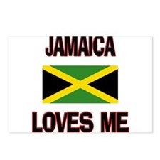 Jamaica Loves Me Postcards (Package of 8)