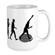 Shot Putting Evolution Mug