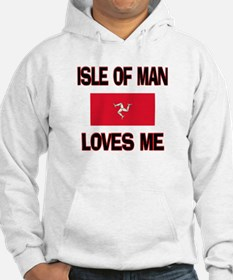 Isle Of Man Loves Me Hoodie