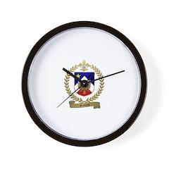 GALLANT Family Crest Wall Clock