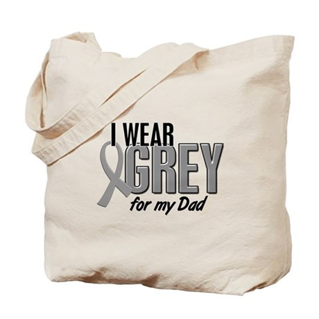 I Wear Grey For My Dad 10 Tote Bag