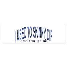 Skinny Dip Bumper Bumper Sticker