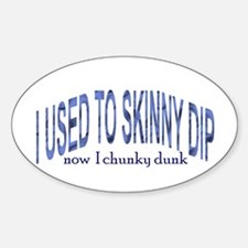 Skinny Dip Oval Decal