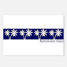 Bartolome Island, Ecuador Postcards (Package of 8)
