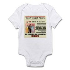 born in 1975 birthday gift Infant Bodysuit