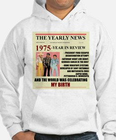 born in 1975 birthday gift Hoodie