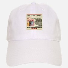 born in 1975 birthday gift Baseball Baseball Cap