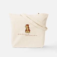 Lion Lamb & Wolf Tote Bag