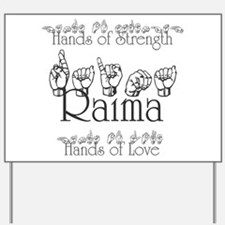 Hands of Strength/Hands of Lo Yard Sign
