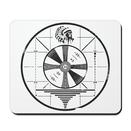 Test Pattern Mousepad