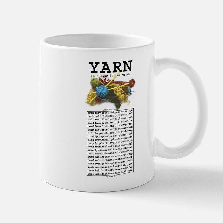Yarn is a 4 Letter Word Mug