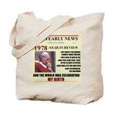 born in 1978 birthday gift Tote Bag