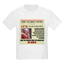 born in 1978 birthday gift T-Shirt