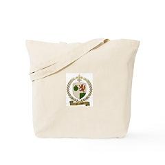 MELANSON Family Crest Tote Bag