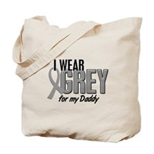 I Wear Grey For My Daddy 10 Tote Bag