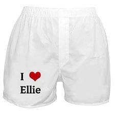 I Love Ellie Boxer Shorts