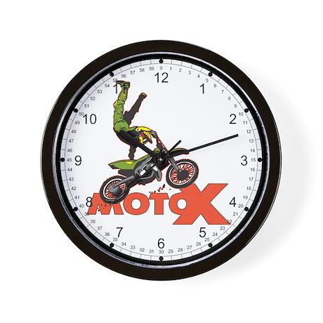 MotoX Air Wall Clock