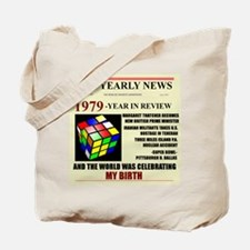 born in 1979 birthday gift Tote Bag