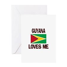 Guyana Loves Me Greeting Card