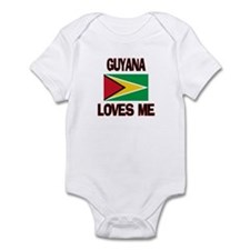 Guyana Loves Me Infant Bodysuit