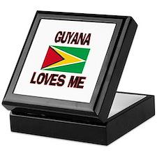Guyana Loves Me Keepsake Box