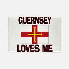 Guernsey Loves Me Rectangle Magnet (10 pack)