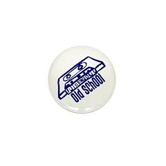 Old School Cassette Mini Button (10 pack)