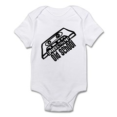 Old School Cassette Infant Bodysuit