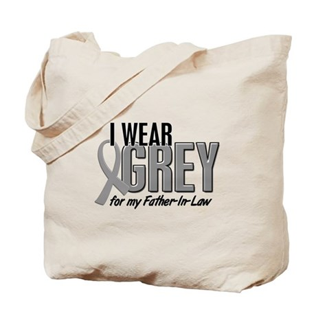 I Wear Grey For My Father-In-Law 10 Tote Bag