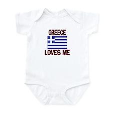 Greece Loves Me Infant Bodysuit