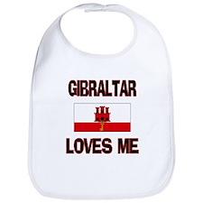 Gibraltar Loves Me Bib