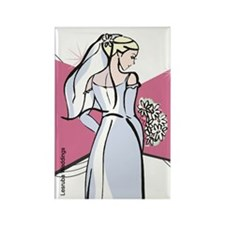 The Bride Favors Rectangle Magnet