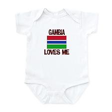 Gambia Loves Me Onesie