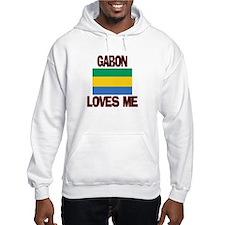 Gabon Loves Me Hoodie