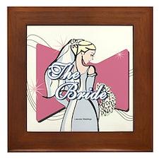 Beautiful Bride Wall Art Framed Tile