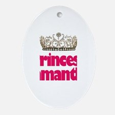 Princess Samantha Oval Ornament