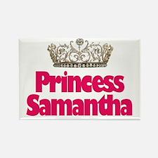Princess Samantha Rectangle Magnet