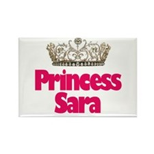 Princess Sara Rectangle Magnet