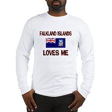 Falkland Islands Loves Me Long Sleeve T-Shirt