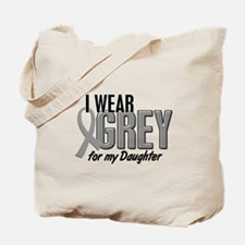 I Wear Grey For My Daughter 10 Tote Bag