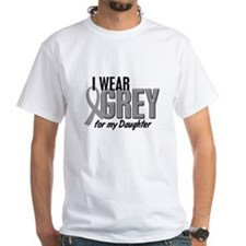 I Wear Grey For My Daughter 10 Shirt
