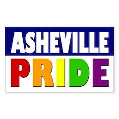 Asheville Pride (bumper sticker)