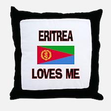 Eritrea Loves Me Throw Pillow