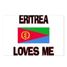 Eritrea Loves Me Postcards (Package of 8)